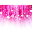 Valentines day card template eps 8 vector