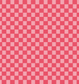 Red seamless fabric texture pattern vector