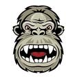 Wild gorilla vector