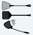 Fly swatter vector