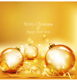 Holiday gold background vector