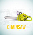 Chainsaw isolated vector