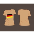 National team of germany vector