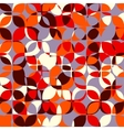 Abstract geometrical multicolored mosaic vector