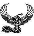 Egypt god stencil vector