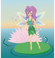 Fairy cartoon vector