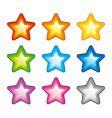 Rainbow stars vector