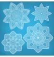 Set of arabesques vector