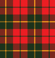 Tartan fabric texture in a square pattern seamless vector