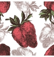 Strawberry seamless vector