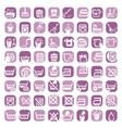 Big color cleaning icons vector