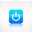 Onoff switch icon application button vector