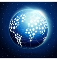 Abstract earth globe vector