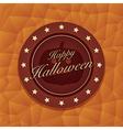 Halloween emblem vector
