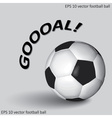 Soccer or football ball eps10 vector
