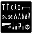 Tool icon set vector