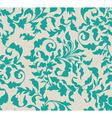 Vintage seamless floral background vector