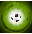 Sport tech football background vector