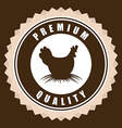 Hen design vector