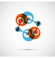 Abstract dna icon eps vector
