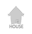 Home icon for concept vector