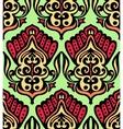 Damask seamless floral design vector