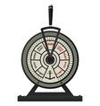 Retro brass ships telegraph vector