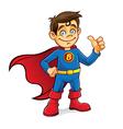 Superhero boy vector