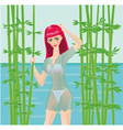 Nature girl vector
