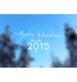 Abstract winter christmas greeting design vector