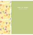 Party decorations bunting square torn seamless vector