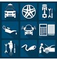 Icon car service 2 vector