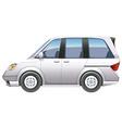 A minivan vector