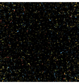 Black grainy texture vector