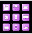Icon appliances vector