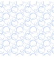 Seamless pattern with painted circles vector