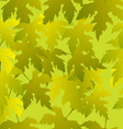 Grape leaves seamless pattern vector