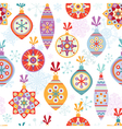 Christmas seamless background vector