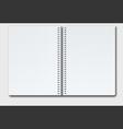 Open notebook copy vector