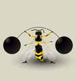 Loosing weight bee vector