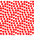 Design seamless colorful heart pattern vector