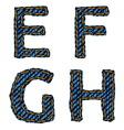 Farmerke tekstura efgh resize vector
