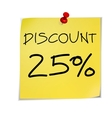 Notes discount vector