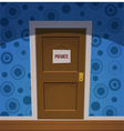 Private room vector