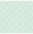 Seamless baroque damask luxury turquoise vector