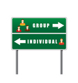Traffic sign icons people vector