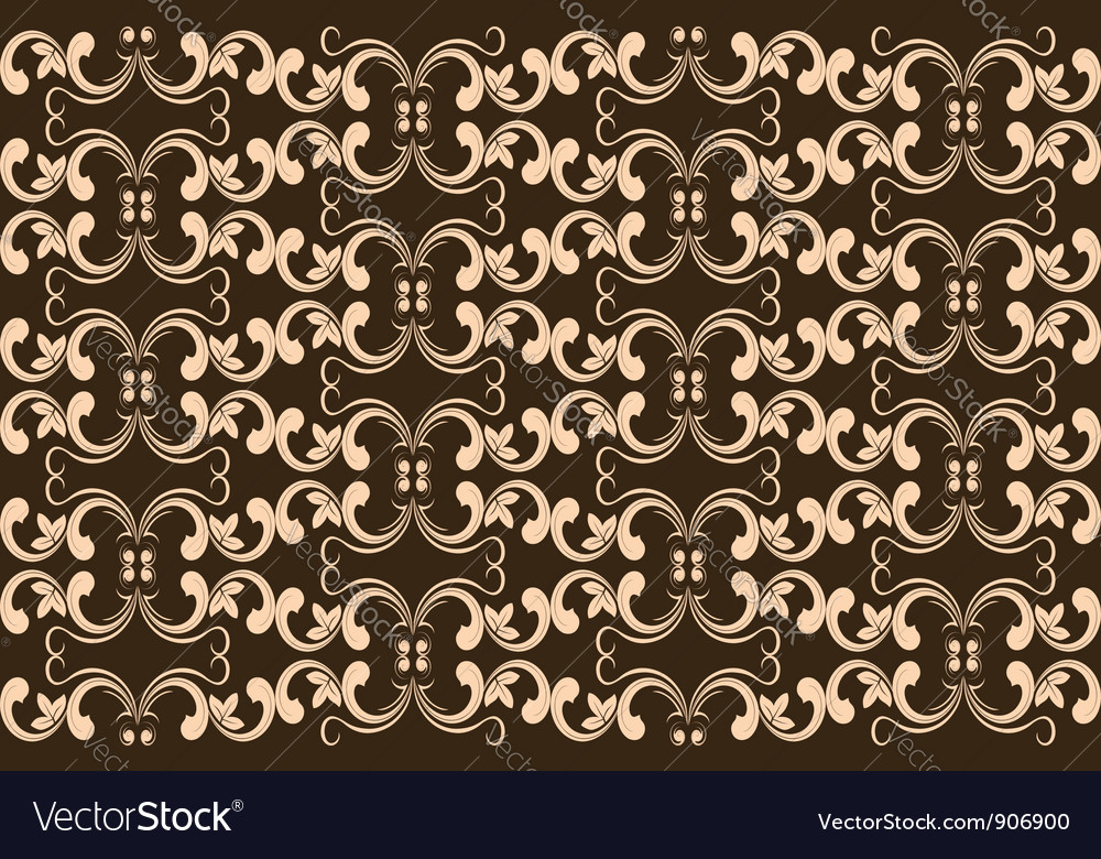 Abstract floral seamless vector | Price: 1 Credit (USD $1)