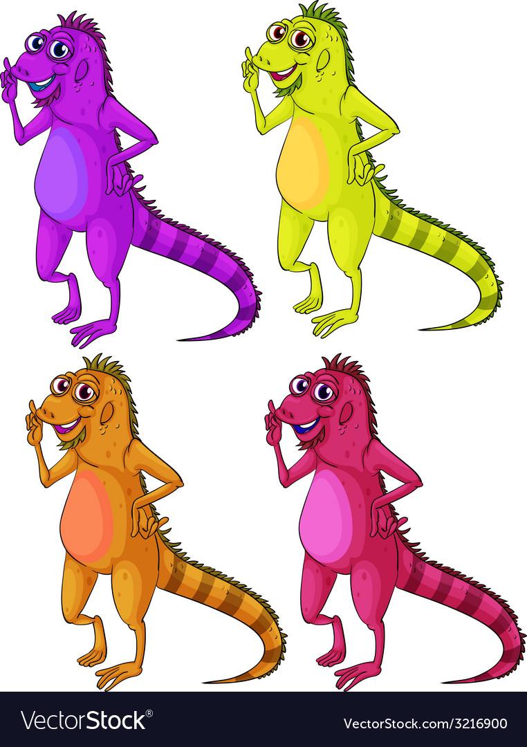 Iguana vector | Price: 1 Credit (USD $1)