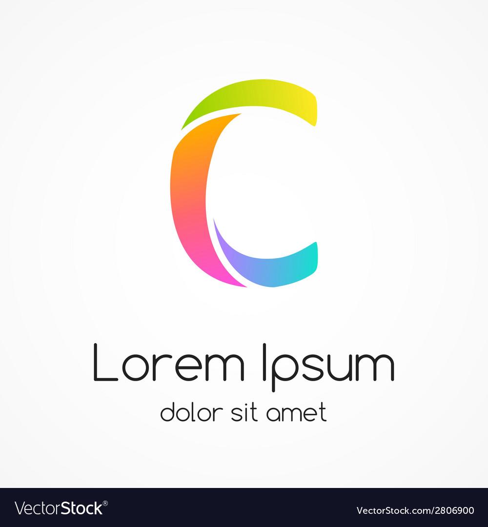 Logo letter c company design template vector   Price: 1 Credit (USD $1)