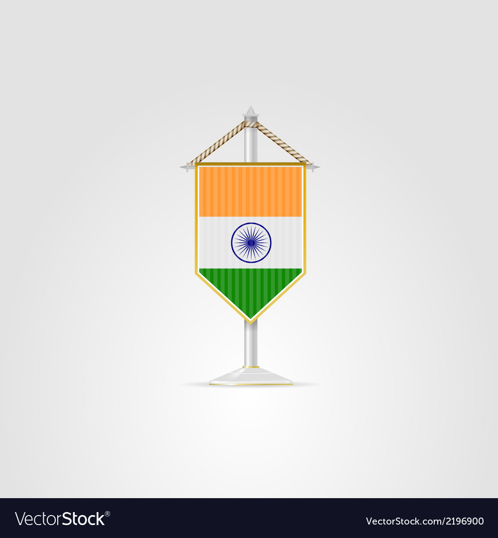 National symbols of south asia countries india vector | Price: 1 Credit (USD $1)